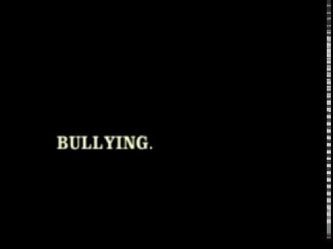 Campanha sobre Bullying