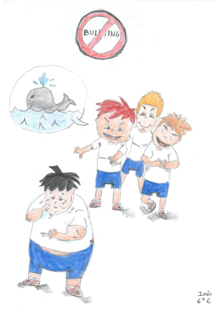 Ilustração Bullying